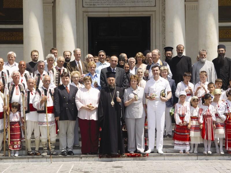 2005 - În perioada pascală, la Catedrala Arhiepiscopală