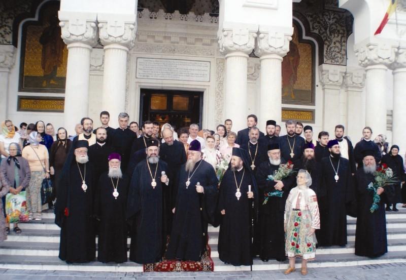 În 2004 - Anul Sf. Voievod Ştefan cel Mare, la Catedrala din Galaţi