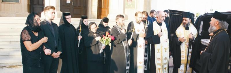 Pomenire la Catedrala arhiepiscopală din Buzău