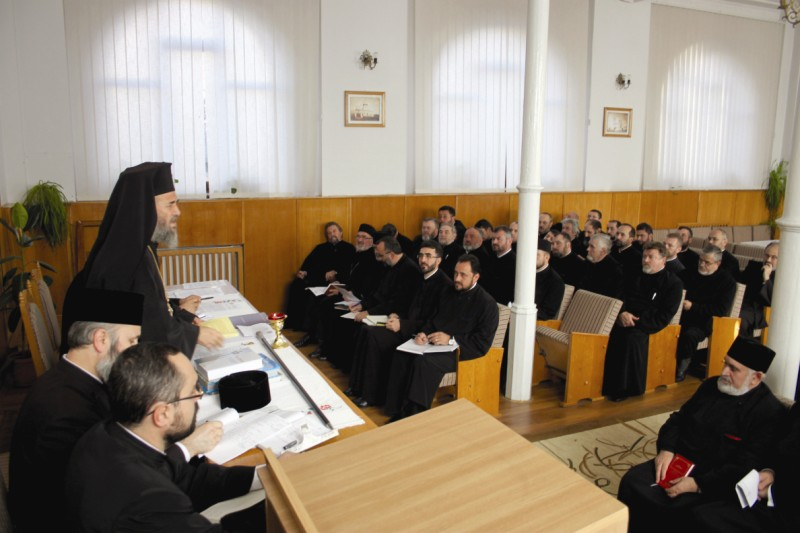 Conferinţă preoţească la Protoieria Galaţi