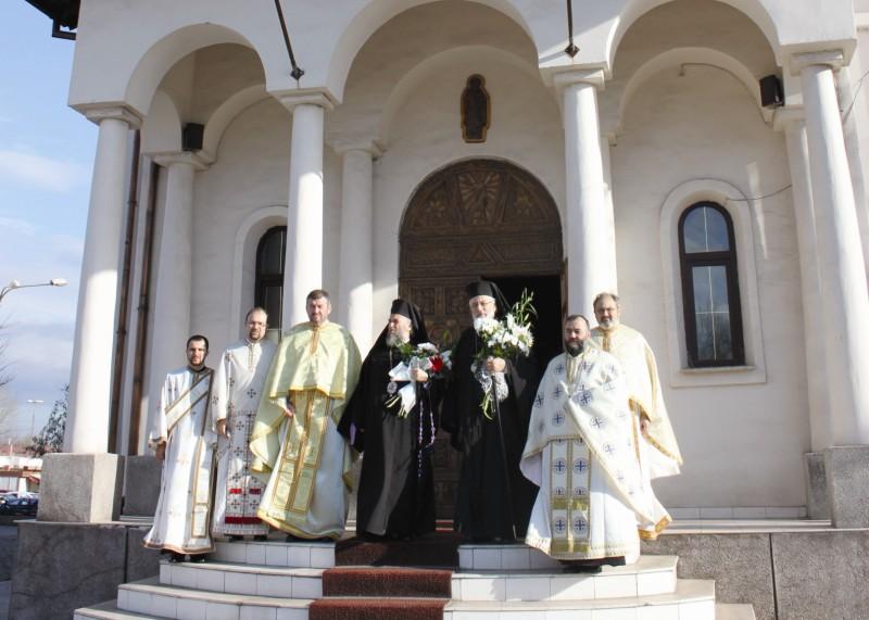 Binecuvântare arhierească la hramul bisericii