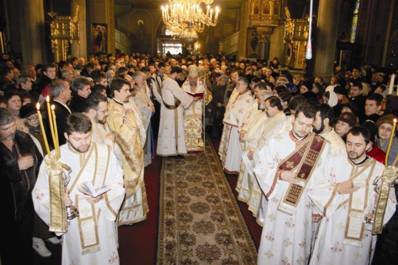 Sfânta Liturghie, la hramul oraşului Brăila