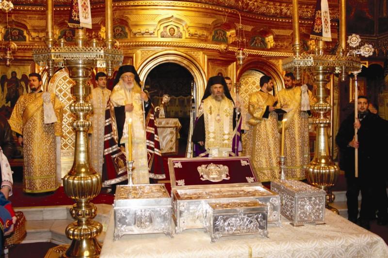 Binecuvântarea sfinţilor