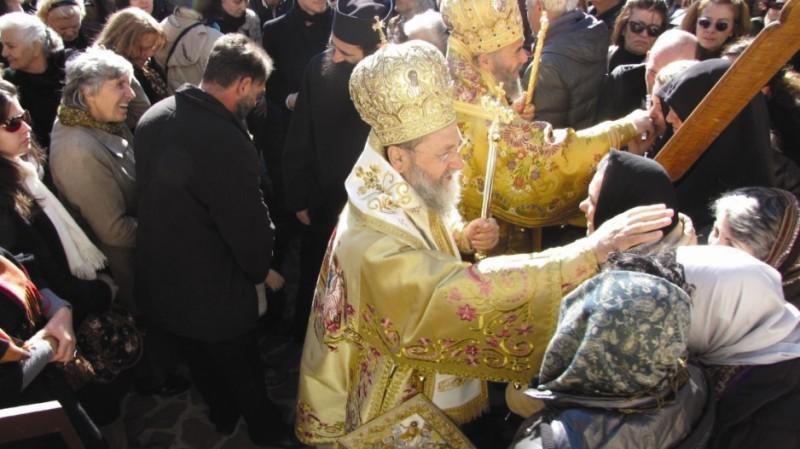 Binecuvântare pentru pelerinii greci şi români