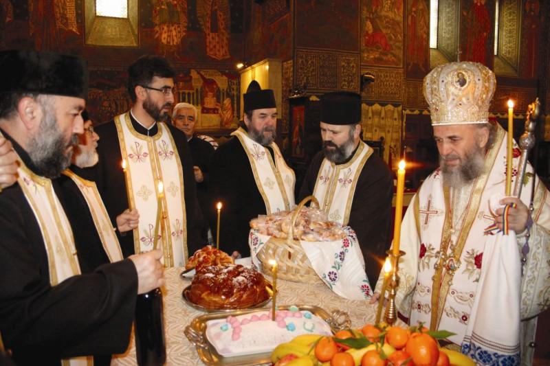 17 ianuarie 2014: Parastas pentru Episcopul Chesarie Păunescu al Dunării de Jos