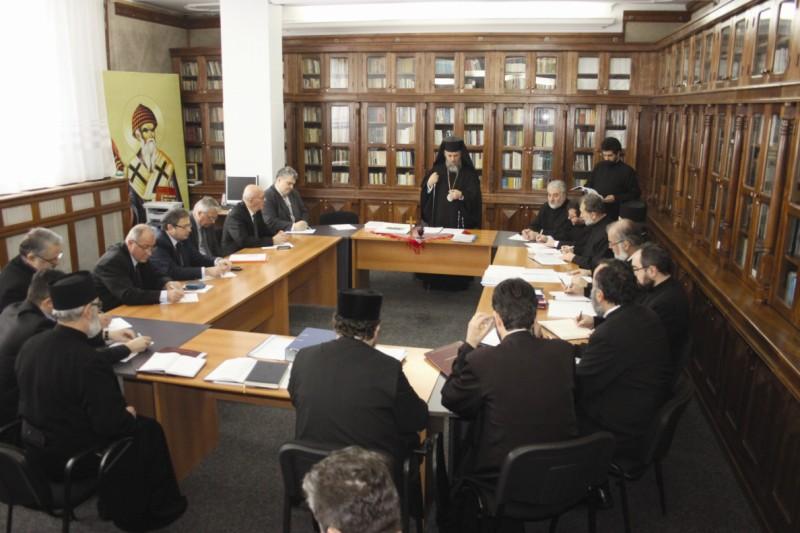 Şedinţa Consiliului Eparhial