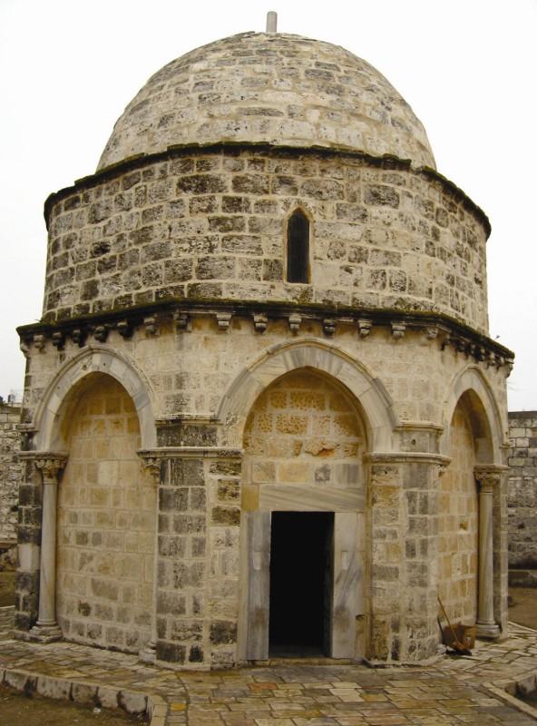 Capela Înălţării, de pe Muntele Măslinilor