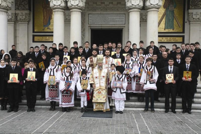 Prăznuirea Duminicii Ortodoxiei la Catedrala Arhiepiscopală din Galaţi