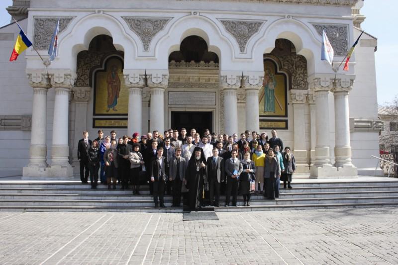 Înaltpreasfinţitul Părinte Casian, Arhiepiscopul Dunării de Jos alături de delegaţiile A.S.C.O.R. din ţară