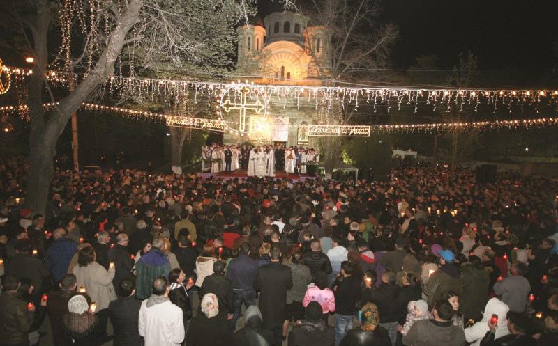 Praznicul Învierii Domnului la Catedrala Arhiepiscopală din Galaţi