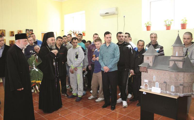 Binecuvântare chiriarhală pentru deţinuţii din Penitenciarul Galaţi, de Sărbătoarea Învierii Domnului