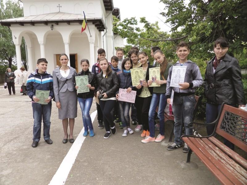 Voluntari în cadrul proiectului
