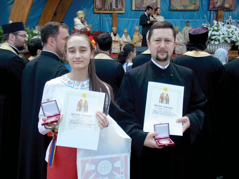 Diplomele şi medaliile oferite de Preafericitul Părinte Patriarh Daniel