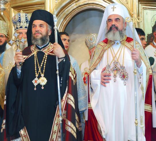 27 septembrie 2009: Preafericitul Părinte Patriarh Daniel prezent la evenimentul ridicării Eparhiei Dunării de Jos la rangul de Arhiepiscopie şi a Înaltpreasfinţitului Părinte Casian la rangul de Arhiepiscop