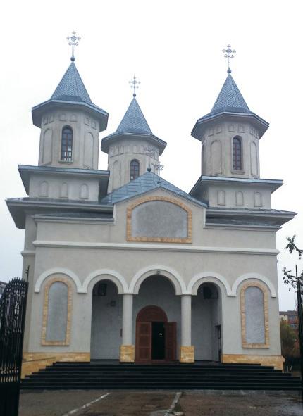 Sfântul locaş din oraşul Galaţi închinat Sfinţilor Brâncoveni