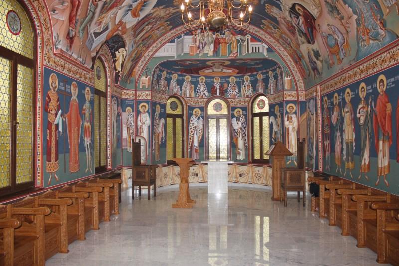 """Capela cu hramul ,,Întâmpinarea Domnului"""" şi ,,Sf. Martiri Brâncoveni""""  din incinta Muzeului Istoriei, Culturii şi Spiritualităţii creştine de la Dunărea de Jos"""
