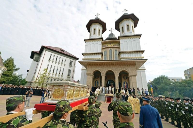 Moaştele Sf. Martir Constantin Brâncoveanu la Catedrala Arhiepiscopală din Buzău
