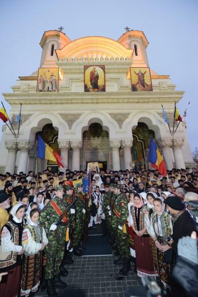 26 noiembrie 2014: Preafericitul Părinte Patriarh Daniel la Galaţi