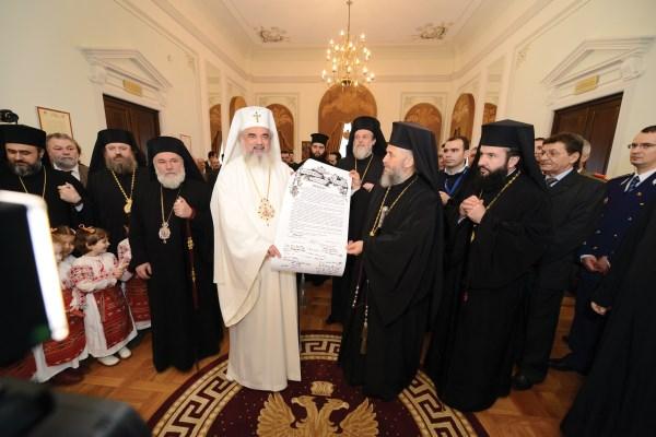 Prezentarea Documentului de sfinţire a capelei