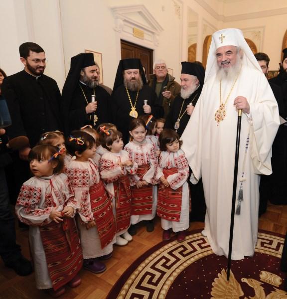 Binecuvântare patriarhală pentru micii creştini