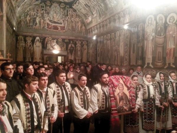 Priveghere în cinstea Sfântului Andrei, la capela Seminarului Teologic