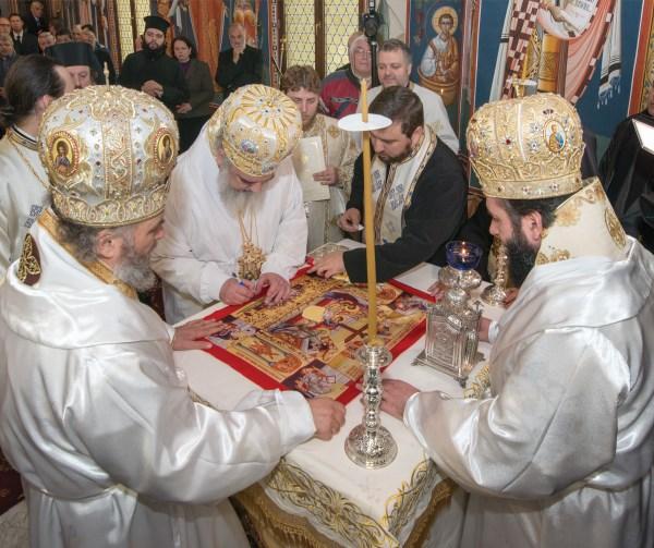 Sfinţirea Sfântului Antimis
