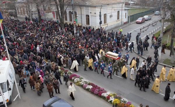 Procesiunea cu moaştele Sfântului Martir Constantin Brâncoveanu, la Galaţi