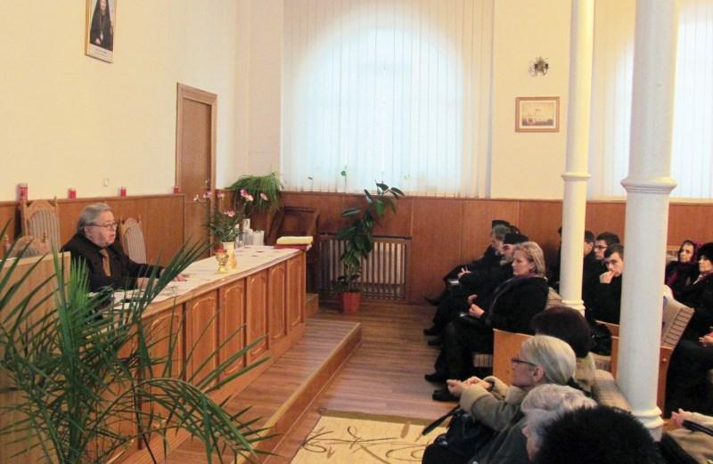 Conferinţă despre opera lui Mihai Eminescu la sediul S.N.F.O.R. Galaţi
