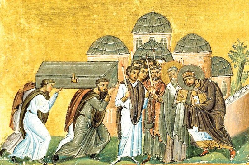 Aducerea moaştelor Sfântului Ioan Gură de Aur