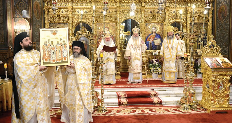Proclamarea Anului omagial 2015 în Catedrala Patriarhală din Bucureşti