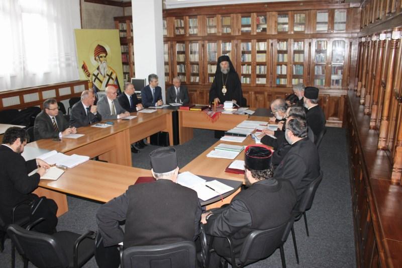 23 ianuarie 2015: Şedinţa Consiliului Eparhial