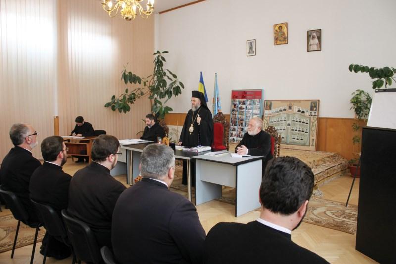 20 februarie 2015: Conferinţa pastorală lunară a preoţilor din protopopiatele Tecuci şi Nicoreşti