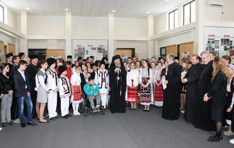 Înaltpreasfinţitul Părinte Casian, Arhiepiscopul Dunării de Jos prezent la festivitatea de premiere a câştigătorilor etapei eparhiale a concursului