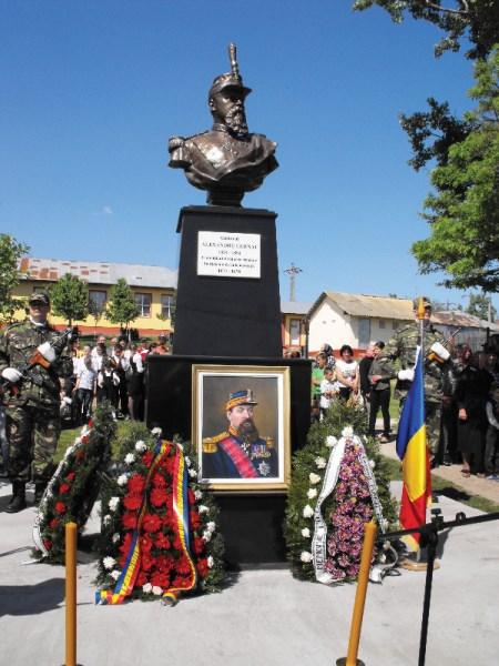 Omagierea Generalului Alexandru Cernat