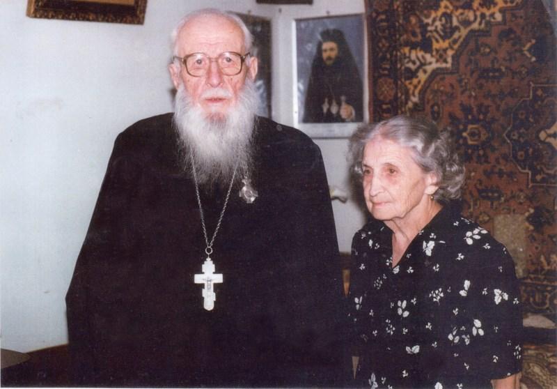 Pr. ic. stavr. Boris Dunănescu şi prezbitera Lidia