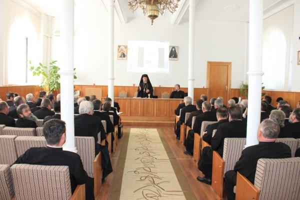 27 mai 2015: Conferinţa pastorală de la Protoieria Galaţi