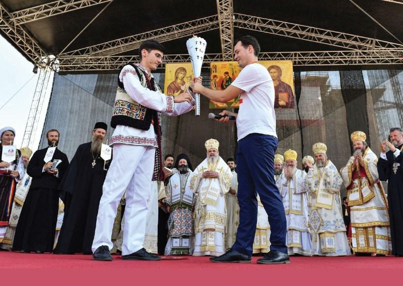 Înmânarea ştafetei tinerilor din Mitropolia Moldovei şi Bucovinei, următoarea gazdă ITO în 2017