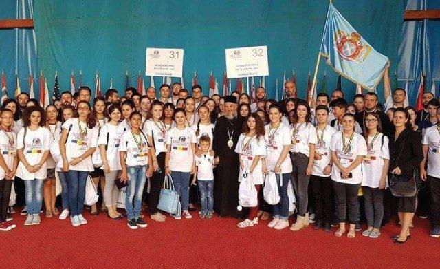 Înaltpreasfinţitul Părinte Casian şi delegaţia de tineri din Arhiepiscopia Dunării de Jos, la ITO 2016