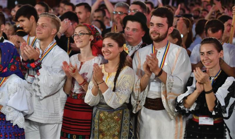 Manifestări de bucurie la Întâlnirea Tinerilor Ortodocşi