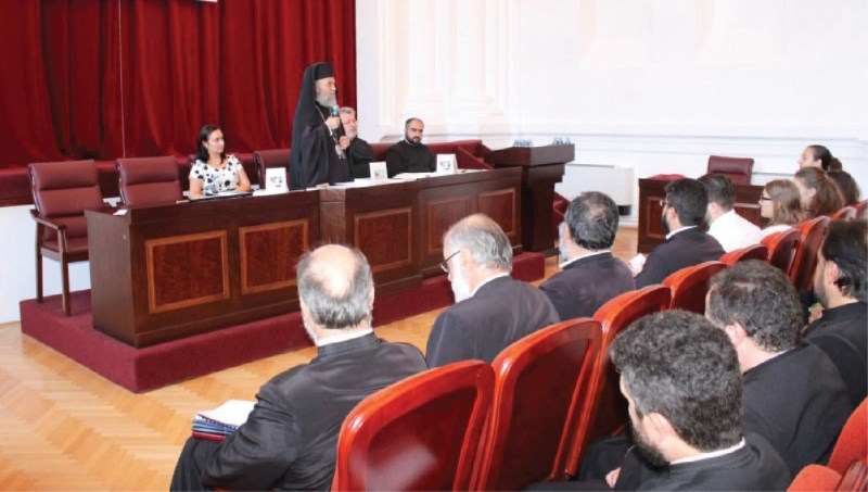 Înaltpreasfinţitul Părinte Casian la deschiderea Consfătuirii profesorilor de Religie – Galaţi, septembrie, 2016