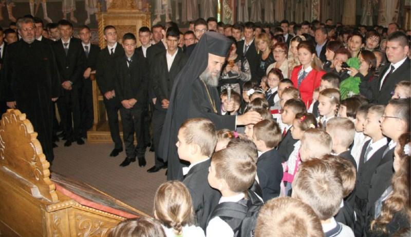 Binecuvântare arhierească pentru elevii din clasele primare