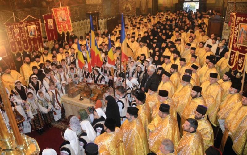 Primirea Moaștelor Sfintei Filofteia, în Catedrala Galaților, 27 noiembrie 2016