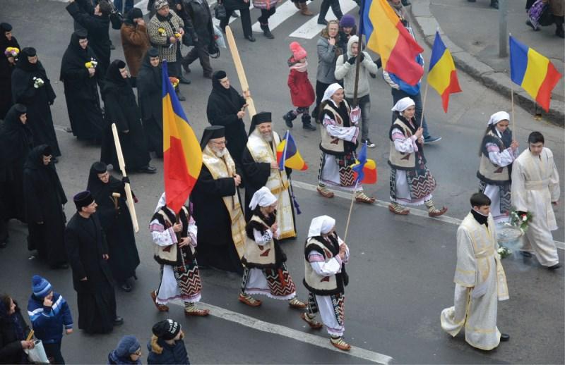 Cei doi ierarhi, pelerini pe Calea Domnească, Galați, noiembrie 2016