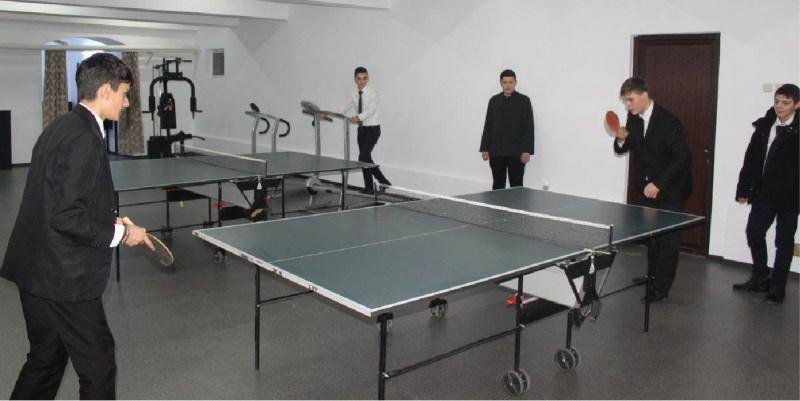 Noua sală de sport a Seminarului Teologic din Galați